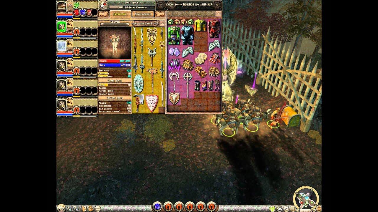 Dungeon Siege 2 Broken