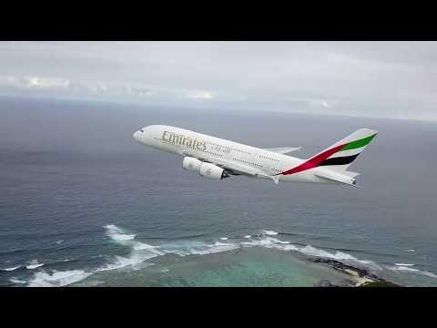 Pazzesco! drone riprende da vicino il decollo di un airbus A380