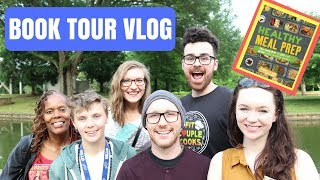 BOOK TOUR VLOG: Day 4 - Charlotte, NC. Adam almost hit a ...