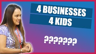 How I Run 4 Businesses As a Mom to 4 Kids