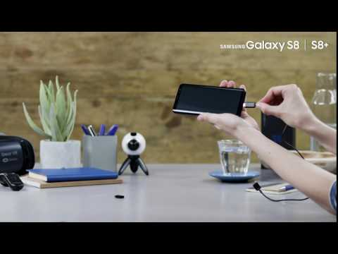 How To;  Samsung Galaxy S8: USB Type C