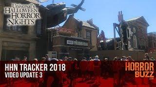 Universal Studios Hollywood HHN Tracker 2018 #3