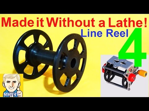 Wooden Speargun Part- 11- Making the Line Reel Spool NO LATHE!