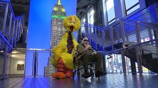 NYC honors Big Bird puppeteer, Sesame Street at 50