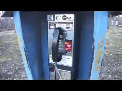Sony DSC-TX7 Video Test: Abandoned Verizon Payphone In A Park
