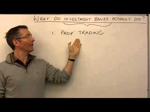 Investment Bank (Basics) | Investment Knowledge