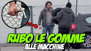 RUBO LE GOMME ALLE MACCHINE -  Prank ( finito MALE ) | Kevin Believe thumbnail