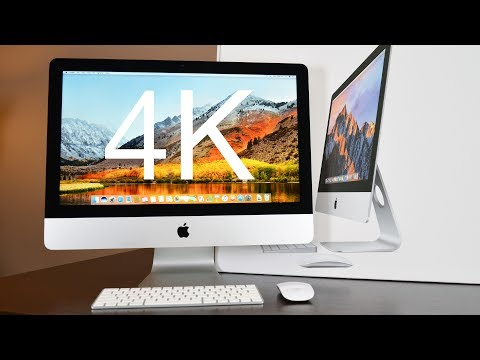 "Apple iMac 21.5"" 4K (2017): Unboxing & Review"