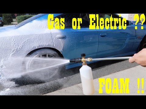 **My Specific** Gas and Electric Pressure Washers (foaming)