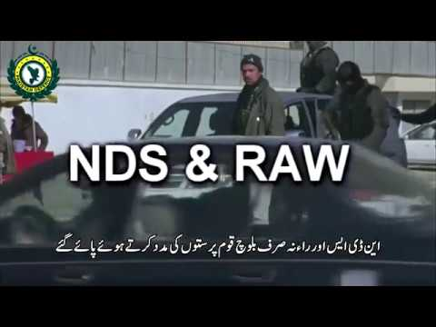 Indian & Afghan Intelligence against Pakistan