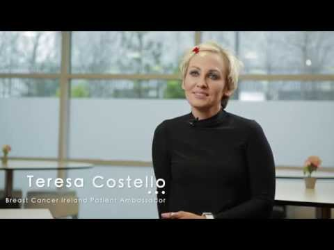 Teresa Costello, Breast Cancer Ireland Patient Ambassador