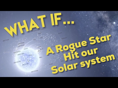 WHAT IF A ROGUE STAR HIT OUR SOLAR SYSTEM