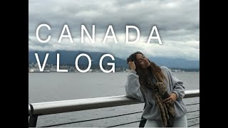 MY FIRST VLOG | FOLLOW ME AROUND CANADA!