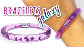 "DIY crafts: WATER BRACELETS ""Galaxy"" - Innova Crafts"
