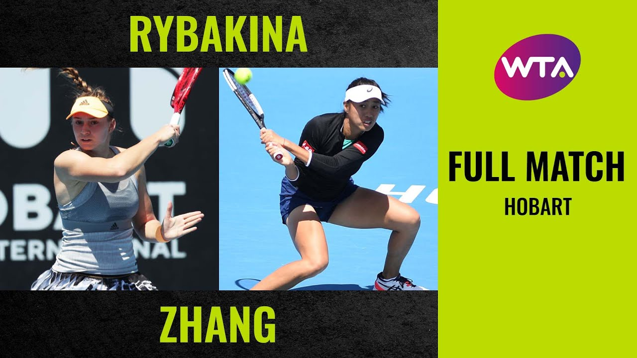 Elena Rybakina vs. Zhang Shuai | Full Match | 2020 Hobart Final