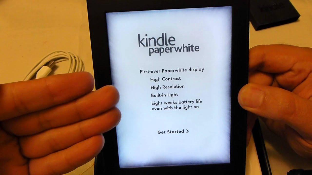 b69cec64623 Amazon Kindle Paperwhite unboxing and setup - YouTube