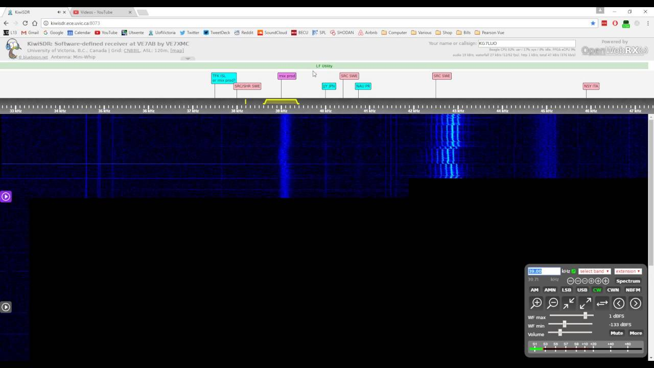 The haunting sounds found on VLF (Very Low Frequency) Radio