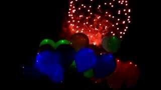 Светящиеся шарики. Шарики наполненные гелием.(Светящиеся шары www.fonariki.kiev.ua наполненные гелием -- это латексные воздушные шары наполненные гелием, светящие..., 2012-07-21T22:38:02.000Z)