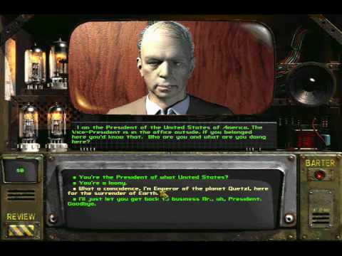 Fallout 2 President of United states of America