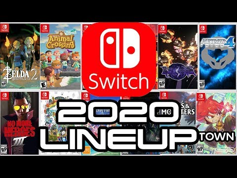 Nintendo Switch Legendary 2020 Lineup!