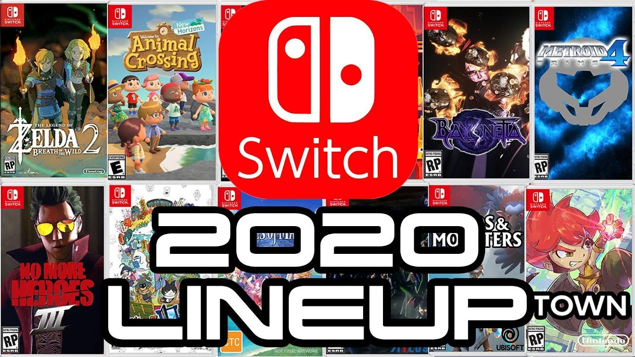 New Nintendo Switch Games 2020.Nintendo Switch Legendary 2020 Lineup