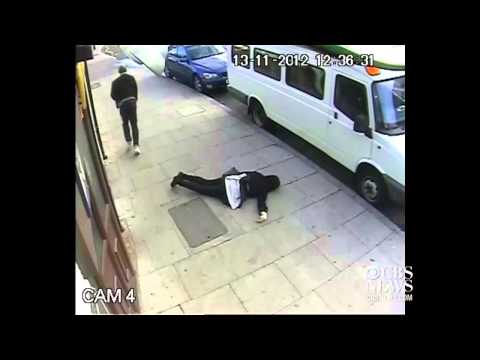 Watch: London CCTV Captures Unprovoked Attack On Teen