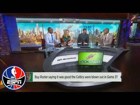 Chauncey Billups not buying Rozier's comments on Celtics being blown out | NBA Countdown | ESPN