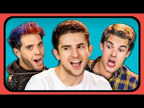 YOUTUBERS REACT TO THEIR OLD YOUTUBE CHANNEL PROFILE #2