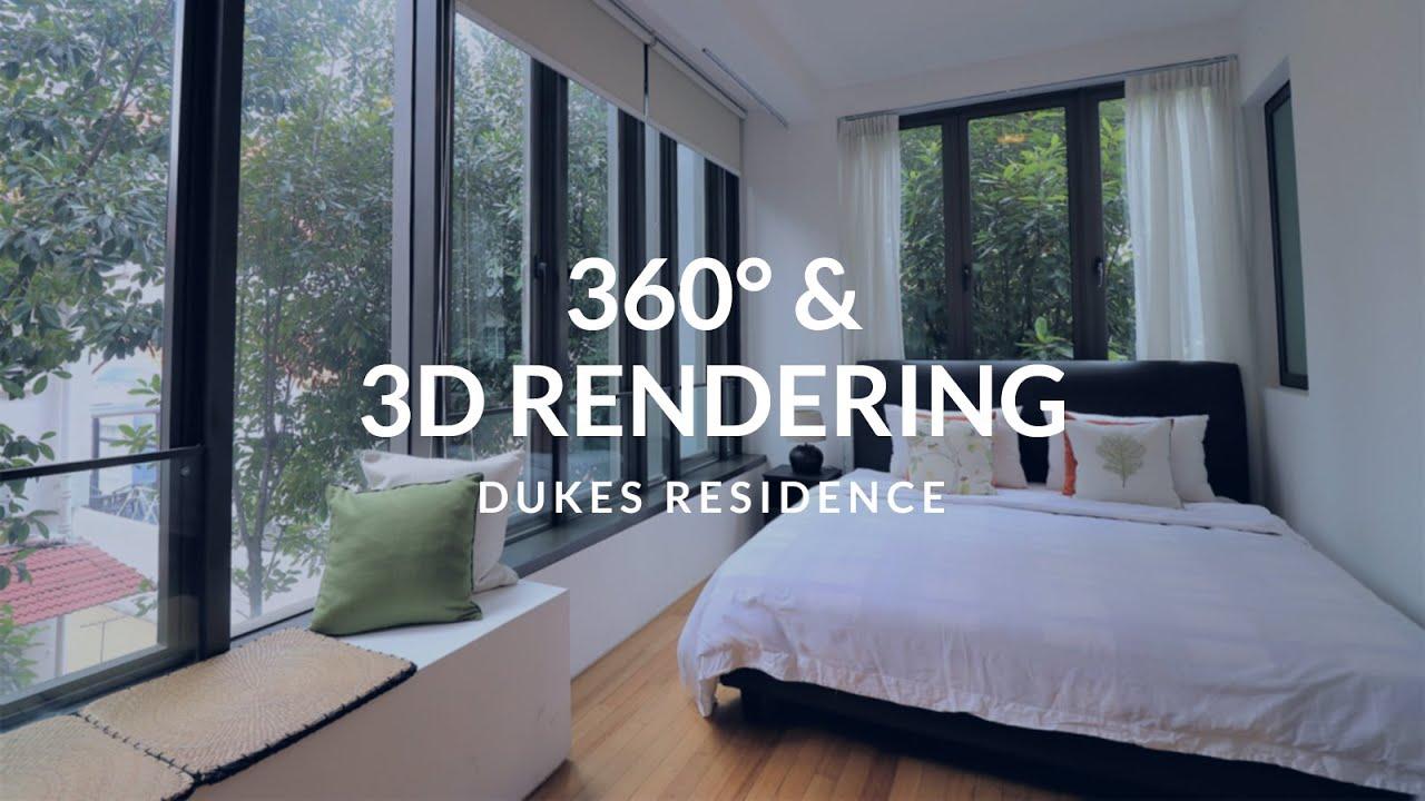 Dukes Residence 3d Rendered Floor Plan Youtube