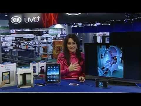 CES 2013 - SlimPort featured on Hi-Tech Mommy with Cat Schwartz