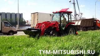 Сенокосилка HANMEY и трактор TYM T503(ТИМ Трейд - официальный дилер TYM TRACTORS. Продажа и обслуживание американских тракторов TYM. Навесное оборудован..., 2013-05-28T07:55:39.000Z)