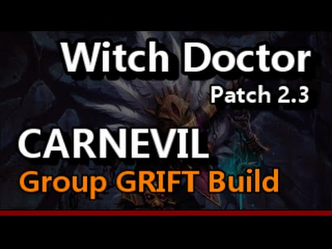 Diablo  Witch Doctor Build Group