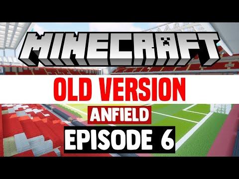 Minecraft Stadium Builds: Anfield [6] Stands