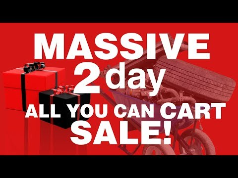 Massive ALL You Can CART Sale at iPull-uPull Auto Parts!