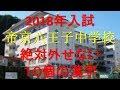 帝京八王子中学 絶対外せない10個の漢字(2018年受験)