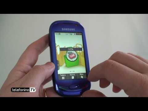 Samsung BlueEarth S7550 videoreview da Telefonino.net