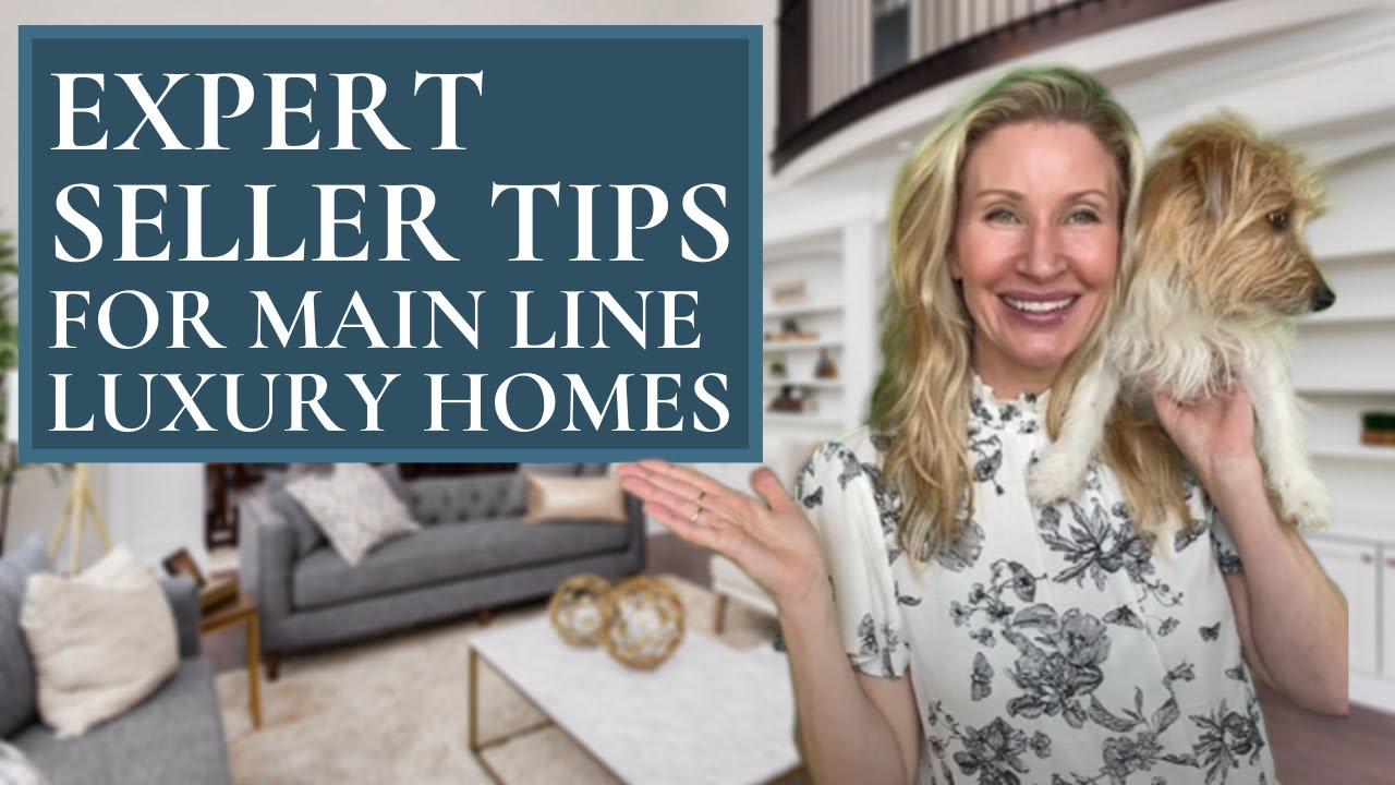 Expert Realtor Kimmy Rolph 🙋🏼♀️  Main Line PA Luxury Seller Tips🏘 📝 💵