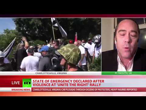 RT's special coverage of violent Charlottesville rally, deadly car plowing incident