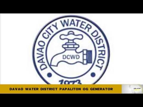 Davao water District papaliton og generator