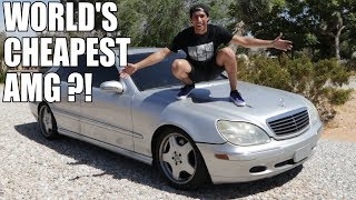 I BOUGHT AN S55 AMG FOR $1000 !!!