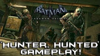 Batman Arkham Origins Multiplayer: Hunter, Hunted Mode Gameplay + Hilarious Commentary!