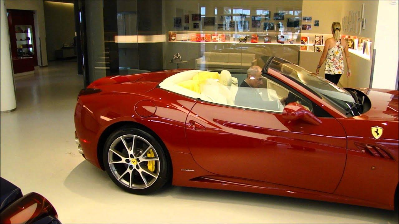Ferrari California T >> Rosso Mugello Ferrari with crema interior at Palm Beach ...