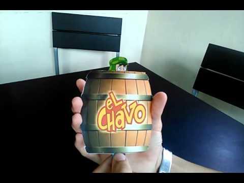 Tarjeta De Invitación Del Chavo Del 8