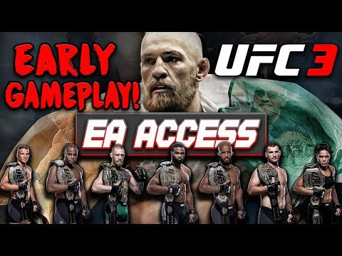 EA SPORTS UFC 3 - EA ACCESS - SEE ALL FIGHTERS - EARLY ACCESS