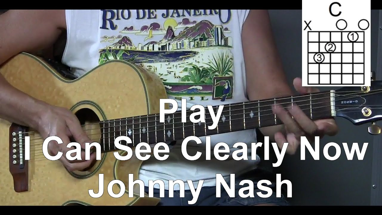 How To Play I Can See Clearly Now Johnny Nash Easy Strum L60