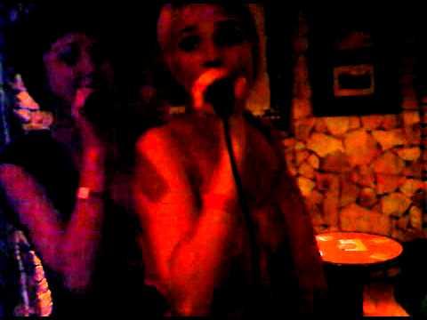 louisa on karaoke in mallorca