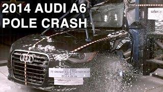 Краш-тест и видео краш-тест Audi A6 (Ауди А6) - Автомобильный информационный портал - AutoTurn.ru