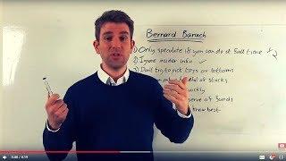 7 Investing Tips from Bernard Baruch 👍
