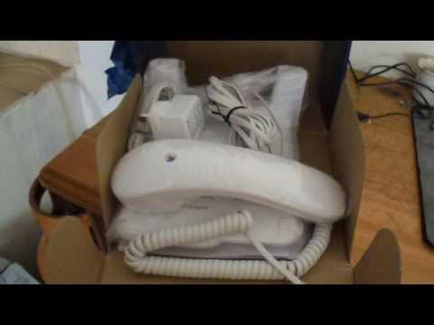 Unboxing of British Telecom Phone