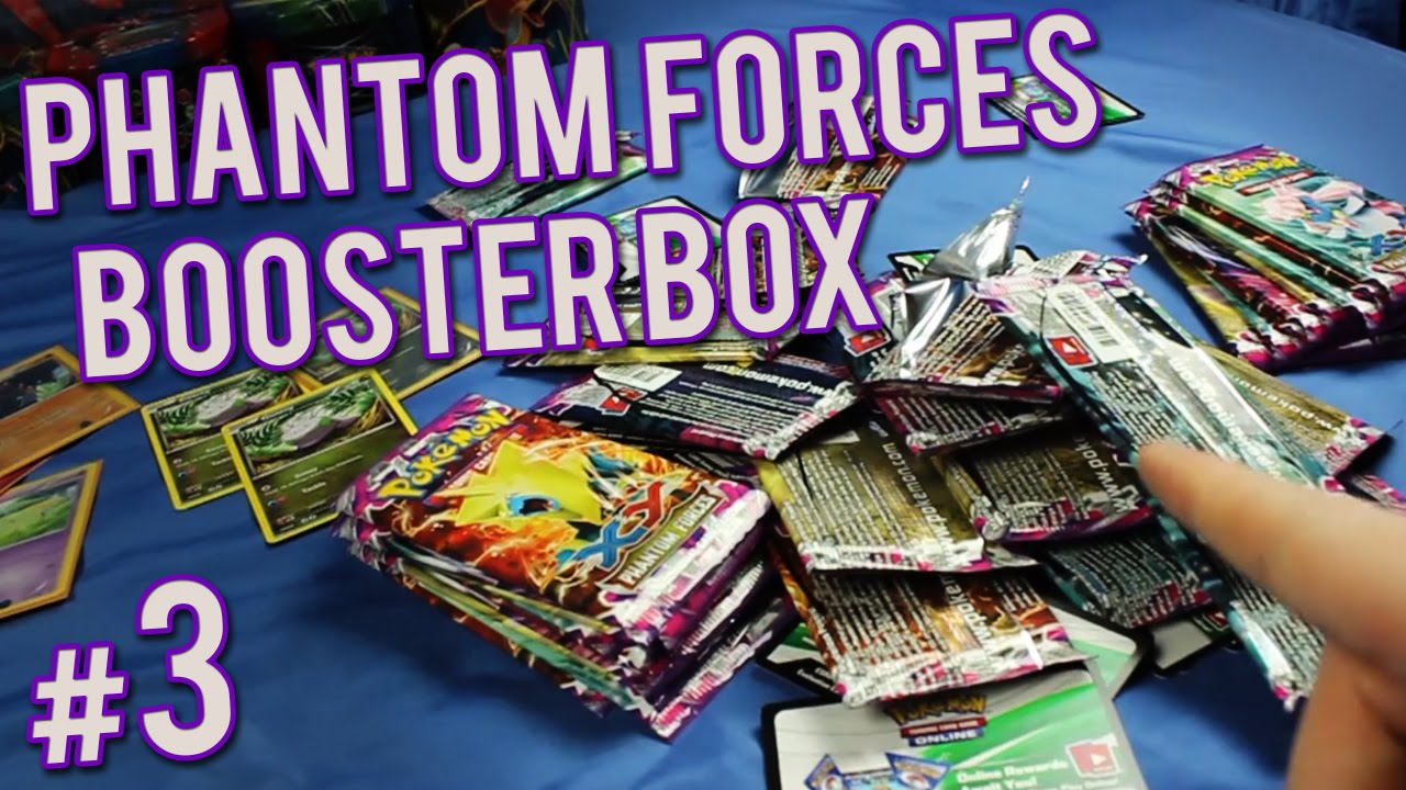 Pokemon cards phantom forces booster box 36 packs opening part